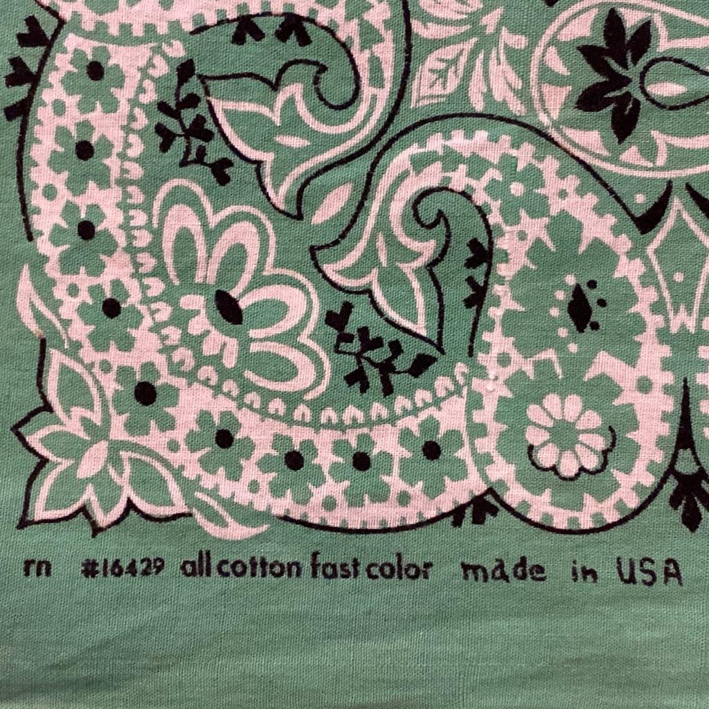 マグネッツ神戸店5/23(土)服飾雑貨&シューズ入荷! #5 Made in U.S.A. Bandana!!!_c0078587_17561986.jpg