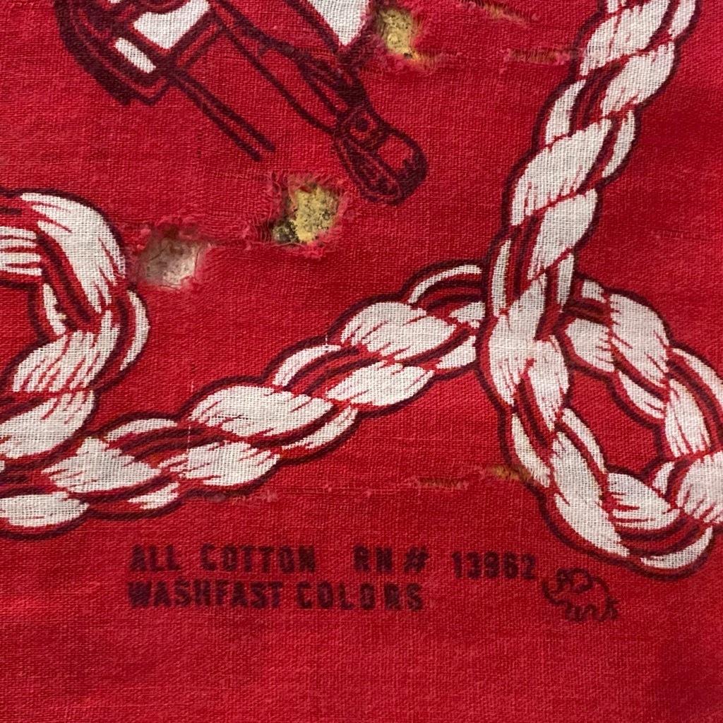 マグネッツ神戸店5/23(土)服飾雑貨&シューズ入荷! #5 Made in U.S.A. Bandana!!!_c0078587_17571244.jpg