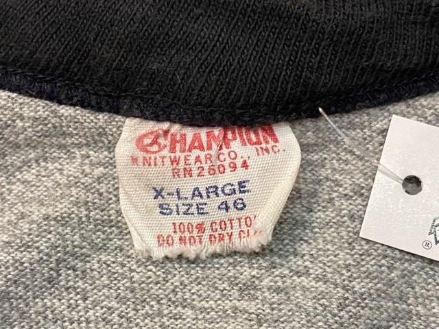 5月23日(土)11:30~マグネッツ大阪店オンラインストア夏物ヴィンテージ入荷!!#6 Vintage T-Shirt編 Part2 Champion!!_c0078587_20001558.jpg