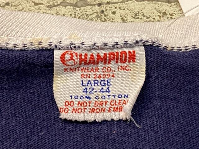 5月23日(土)11:30~マグネッツ大阪店オンラインストア夏物ヴィンテージ入荷!!#6 Vintage T-Shirt編 Part2 Champion!!_c0078587_20030470.jpg