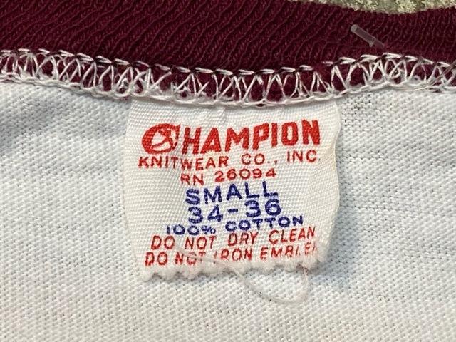 5月23日(土)11:30~マグネッツ大阪店オンラインストア夏物ヴィンテージ入荷!!#6 Vintage T-Shirt編 Part2 Champion!!_c0078587_20044930.jpg