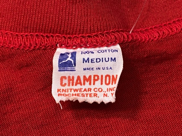 5月23日(土)11:30~マグネッツ大阪店オンラインストア夏物ヴィンテージ入荷!!#6 Vintage T-Shirt編 Part2 Champion!!_c0078587_20083139.jpg