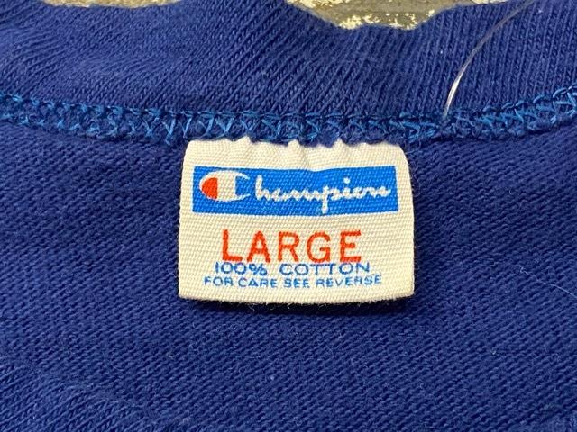 5月23日(土)11:30~マグネッツ大阪店オンラインストア夏物ヴィンテージ入荷!!#6 Vintage T-Shirt編 Part2 Champion!!_c0078587_20191051.jpg
