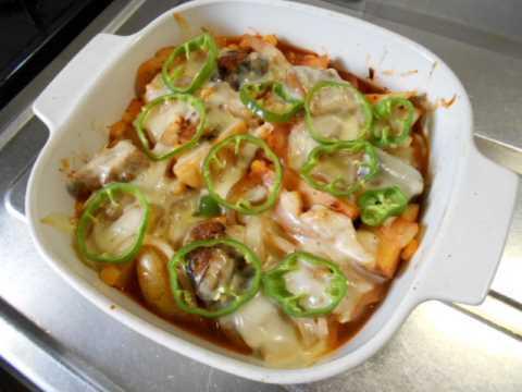 サバ缶のケチャップチーズ焼き_f0019498_15075294.jpg