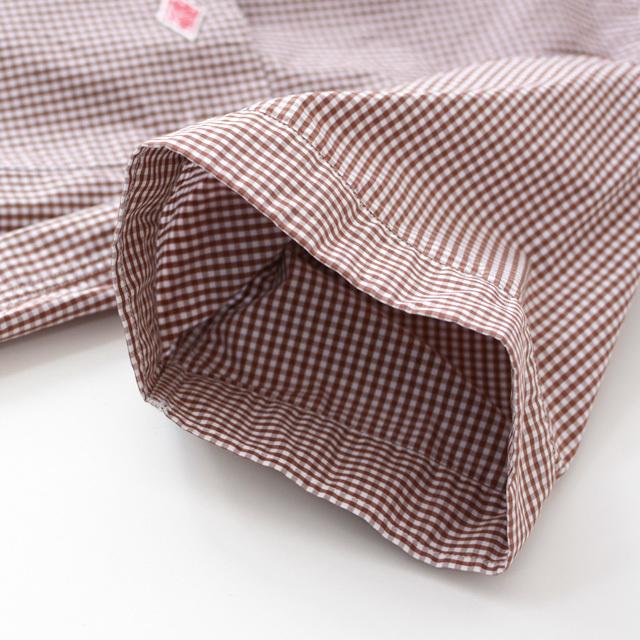 DANTON [ダントン] W\'s COTTON POPLIN PLAID SHIRTS [JD-3748 MTP] コットン・半袖シャツ・ LADY\'S _f0051306_17302389.jpg
