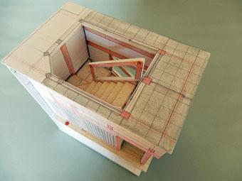 「廣松の間」のラフ模型をつくりました。_c0195909_08272776.jpg