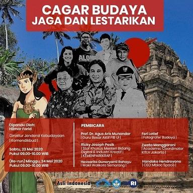 """トークショー:\""""Cagar Budaya, Jaga dan Lestarikan\""""@TVRI インドネシア 5/23, 5/24_a0054926_08334234.jpg"""