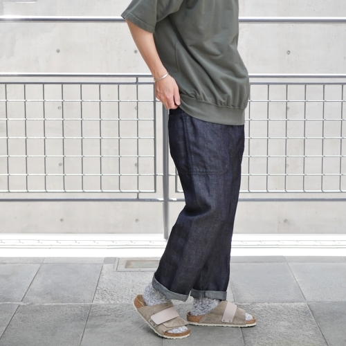 KATO\' Side Seemless Cropped Denim Pants_e0247148_18420798.jpg