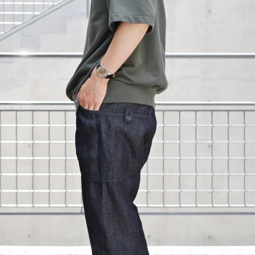 KATO\' Side Seemless Cropped Denim Pants_e0247148_18421296.jpg