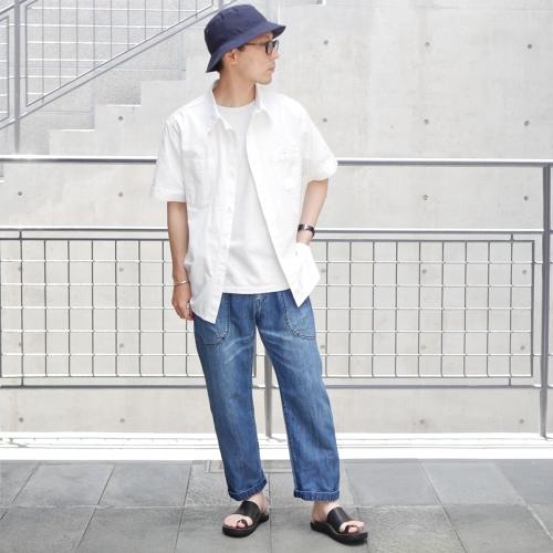 KATO\' Side Seemless Cropped Denim Pants_e0247148_18421795.jpg