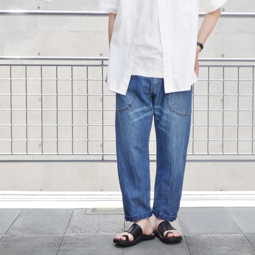 KATO\' Side Seemless Cropped Denim Pants_e0247148_18422285.jpg