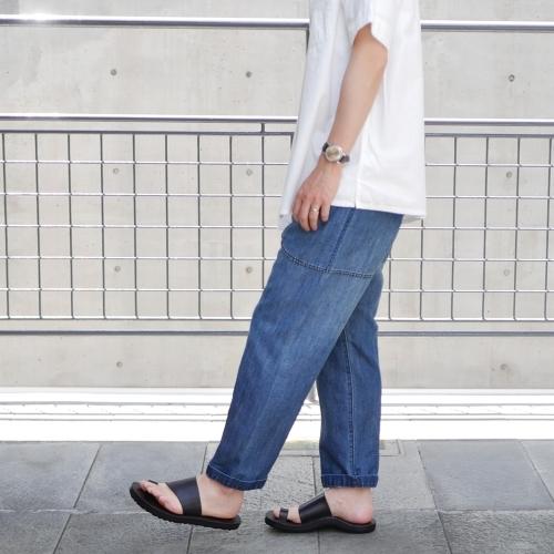 KATO\' Side Seemless Cropped Denim Pants_e0247148_18422611.jpg