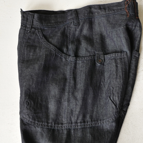 KATO\' Side Seemless Cropped Denim Pants_e0247148_18424942.jpg