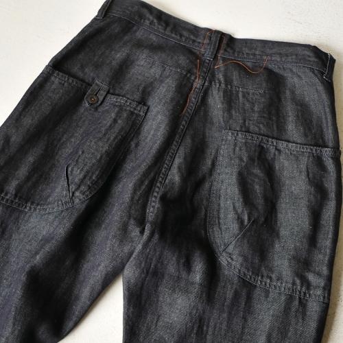 KATO\' Side Seemless Cropped Denim Pants_e0247148_18425989.jpg