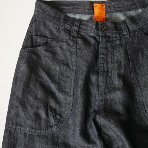 KATO\' Side Seemless Cropped Denim Pants_e0247148_18431267.jpg