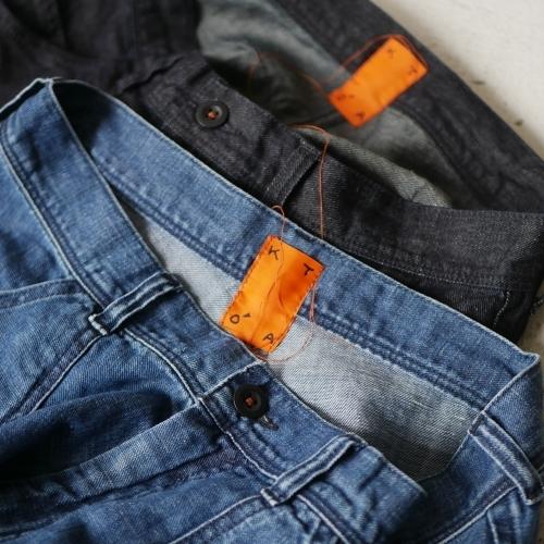 KATO\' Side Seemless Cropped Denim Pants_e0247148_18432797.jpg
