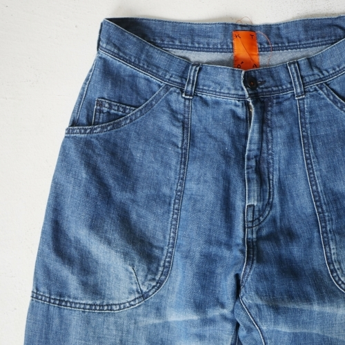 KATO\' Side Seemless Cropped Denim Pants_e0247148_18434085.jpg