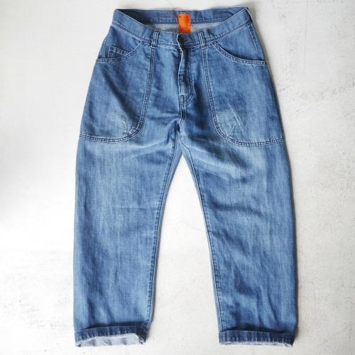 KATO\' Side Seemless Cropped Denim Pants_e0247148_18434760.jpg