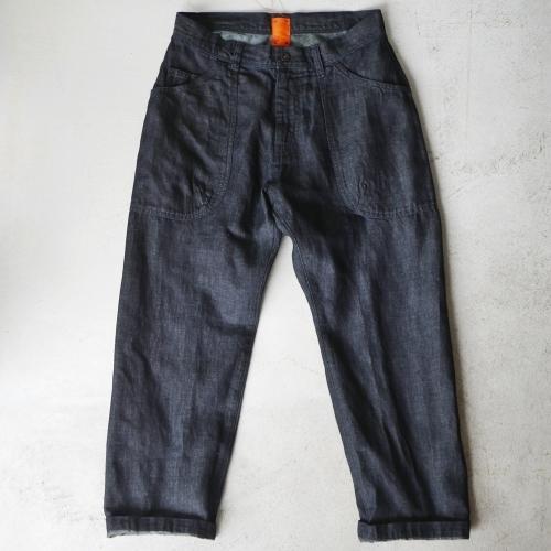KATO\' Side Seemless Cropped Denim Pants_e0247148_18435959.jpg