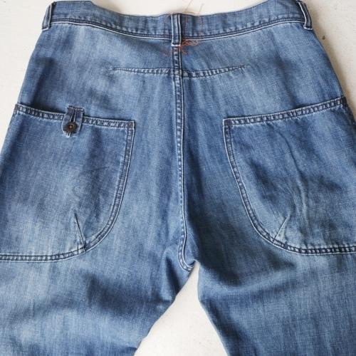 KATO\' Side Seemless Cropped Denim Pants_e0247148_18440815.jpg