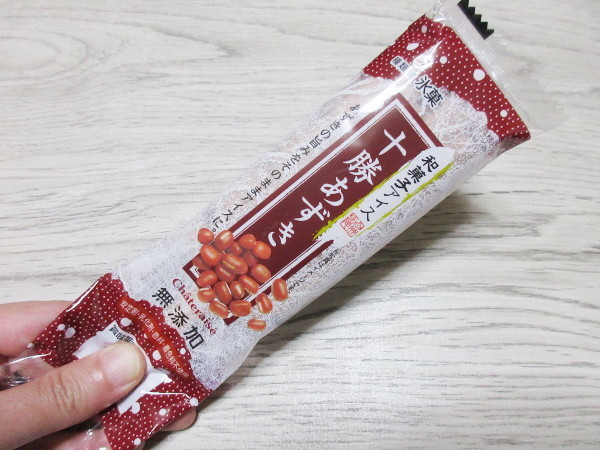 【シャトレーゼ】和菓子アイス 十勝あずき_c0152767_18390987.jpg