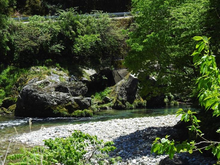 『渓流風景(神崎川と円原川)』_d0054276_2018335.jpg