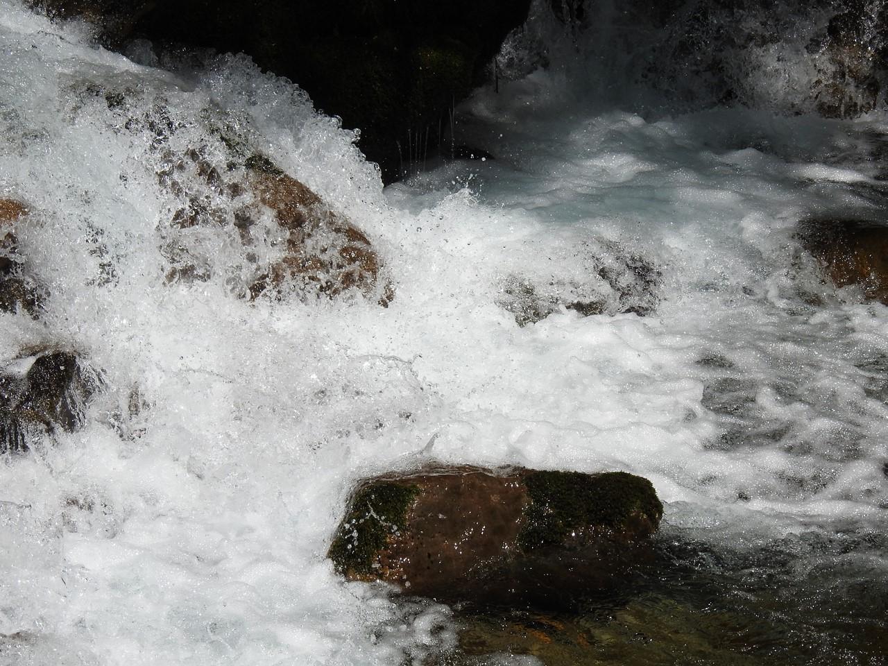 『渓流風景(神崎川と円原川)』_d0054276_2022487.jpg