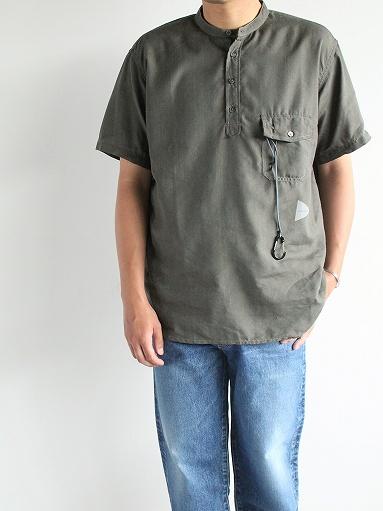 and wander Dry Linen Short Sleeve Shirt_b0139281_13295180.jpg