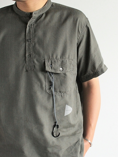 and wander Dry Linen Short Sleeve Shirt_b0139281_13302126.jpg