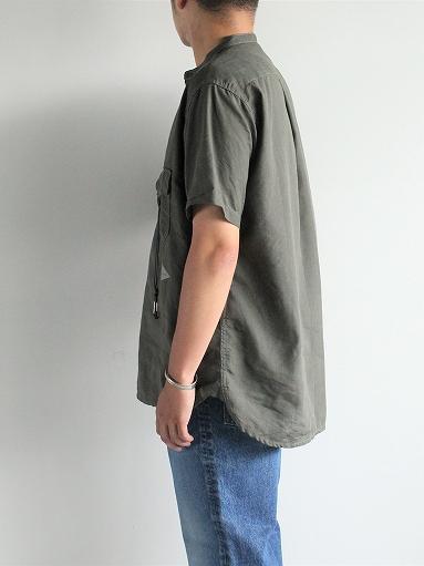 and wander Dry Linen Short Sleeve Shirt_b0139281_1330367.jpg
