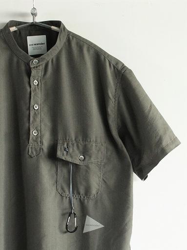 and wander Dry Linen Short Sleeve Shirt_b0139281_1330521.jpg
