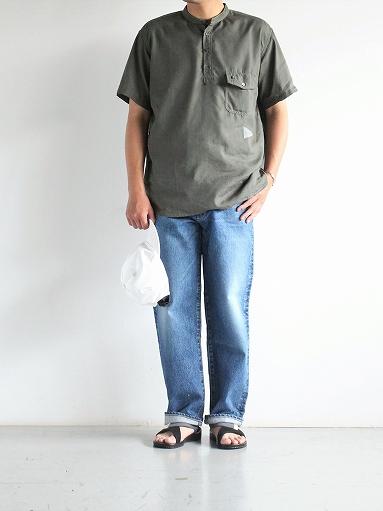 and wander Dry Linen Short Sleeve Shirt_b0139281_13313519.jpg