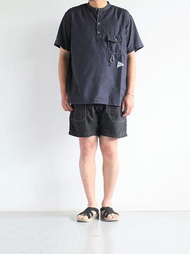 and wander Dry Linen Short Sleeve Shirt_b0139281_13314221.jpg