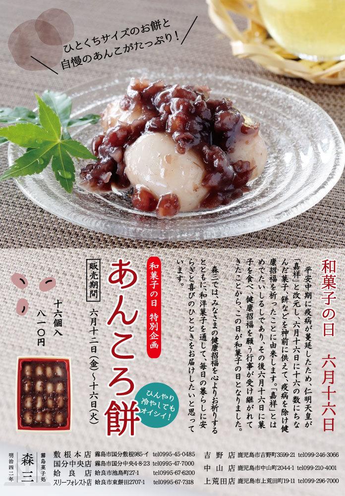 和菓子の日~あんころ餅~_f0058799_15284904.jpg