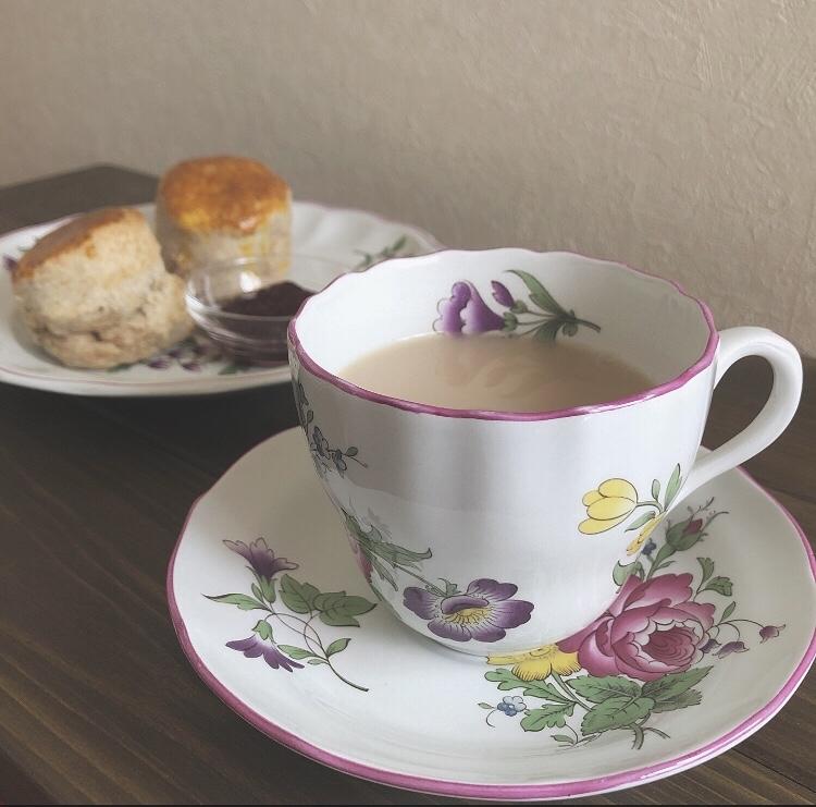 キーマン紅茶とスコーンのベストマッチ👍_c0400703_21444609.jpg