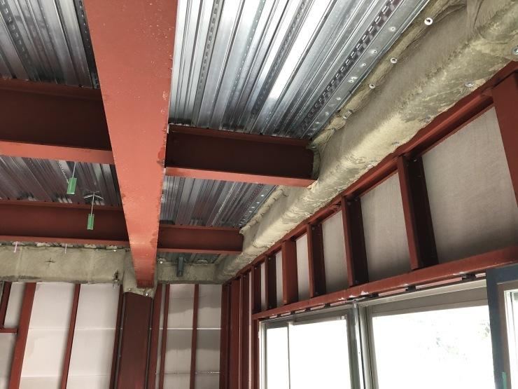 りぶうぇる練馬ティサービスセンター(17)  外壁材・耐火被覆材施工_b0074416_00042179.jpeg
