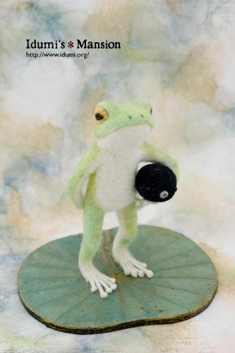 カエルとおたま * Frog&Tadpole 05_f0228320_17461093.jpg