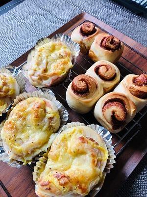 手作りパン作り꒰๑•௰•๑꒱_e0152329_16160432.jpg