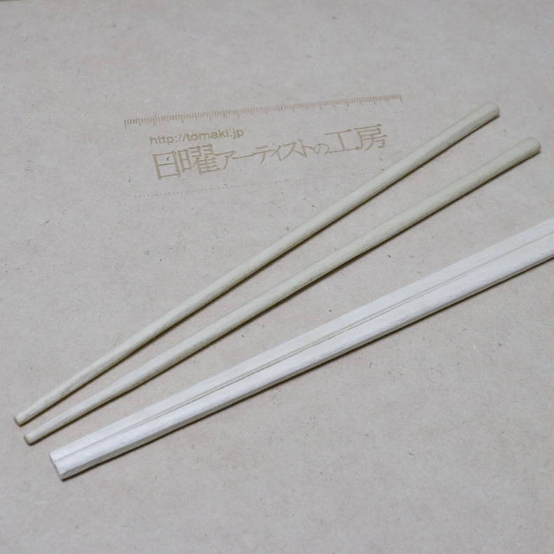 割り箸を削って、ちょっと高級そうな箸に_c0060143_17573926.jpg