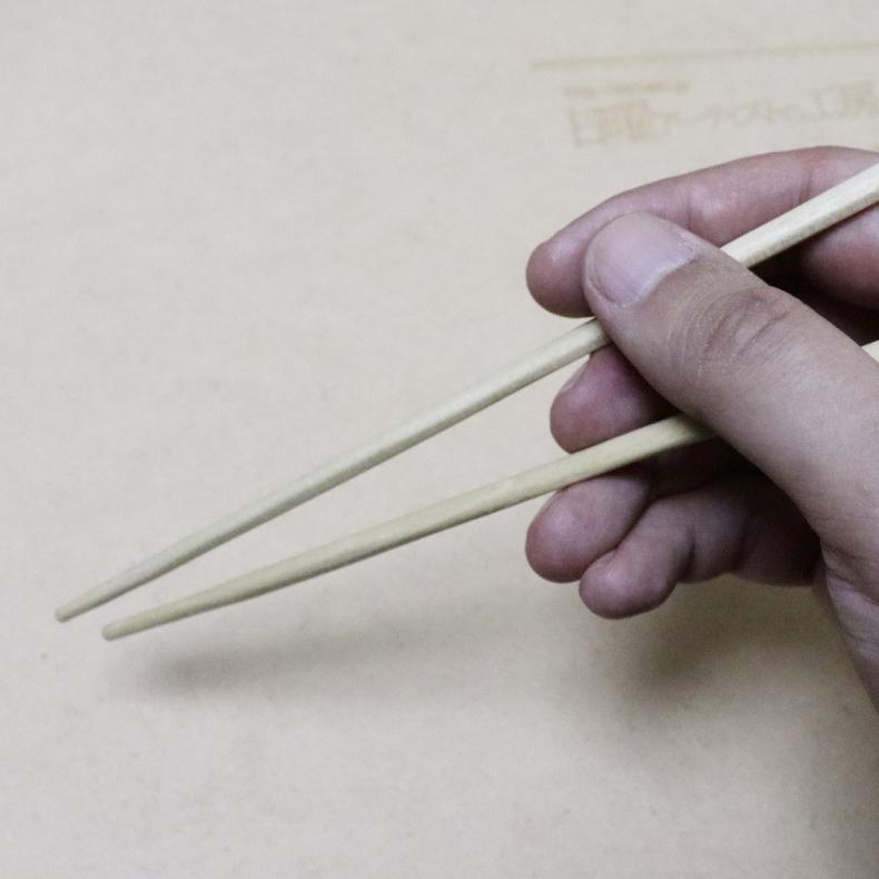 割り箸を削って、ちょっと高級そうな箸に_c0060143_17574152.jpg