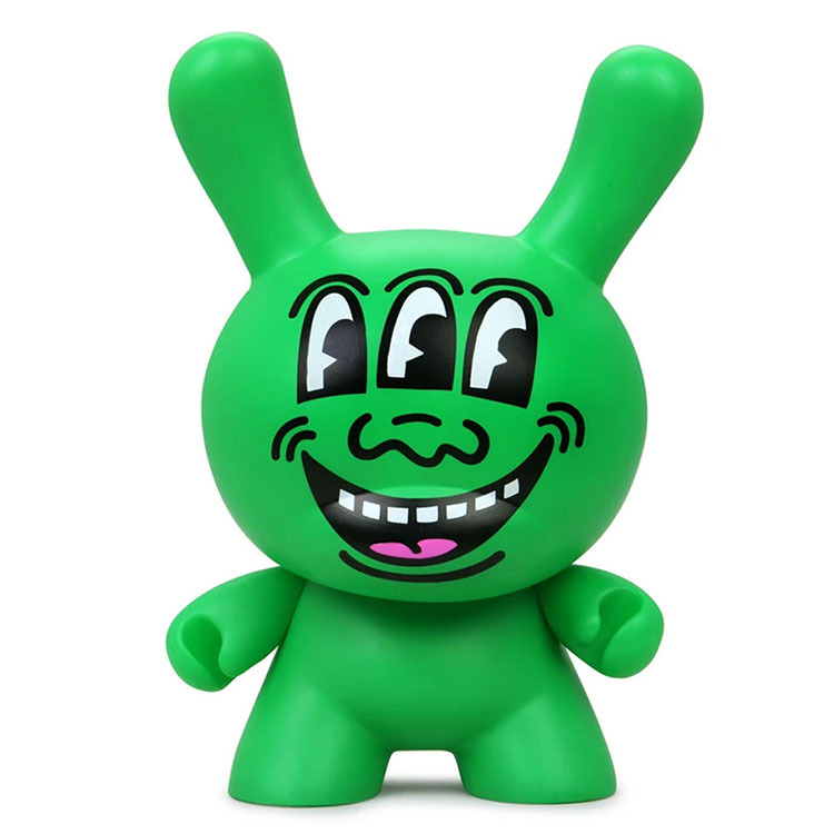 "8"" Keith Haring Masterpiece Dunny - Three Eyed Monster_e0118156_16210198.jpg"