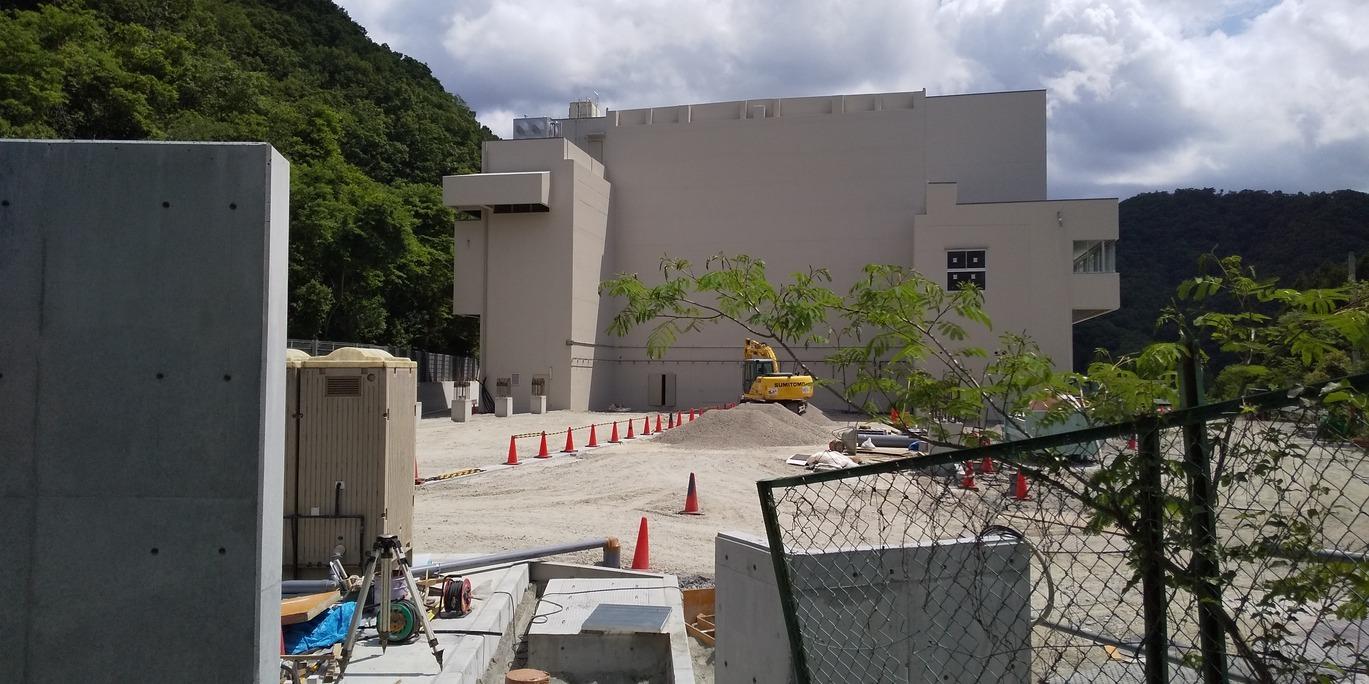 🌞 旧北部処理センター 👷 清掃事務所建設工事中 😊 新型コロナウイルスの影響はいかがでしょうか?!_f0061067_21201018.jpg