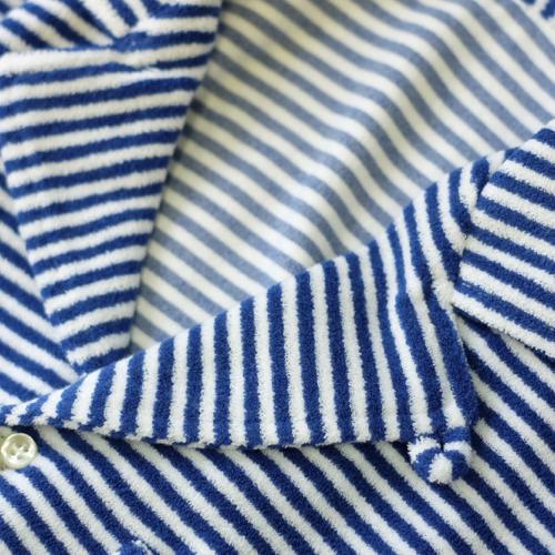 GUY ROVER ギ・ローバー パイルジャージー オープンカラーシャツ・営業時間変更のお知らせ_c0118375_16271981.jpeg