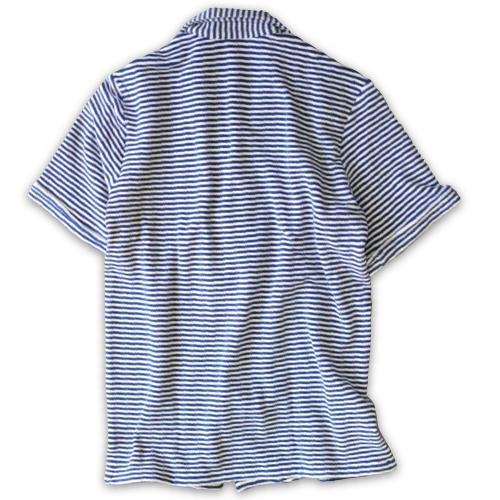 GUY ROVER ギ・ローバー パイルジャージー オープンカラーシャツ・営業時間変更のお知らせ_c0118375_16274581.jpeg