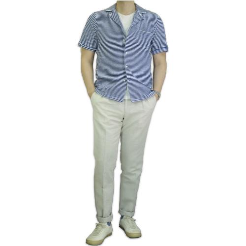 GUY ROVER ギ・ローバー パイルジャージー オープンカラーシャツ・営業時間変更のお知らせ_c0118375_16280142.jpeg