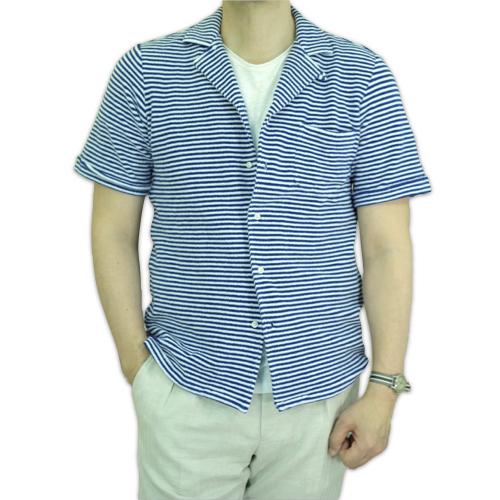 GUY ROVER ギ・ローバー パイルジャージー オープンカラーシャツ・営業時間変更のお知らせ_c0118375_16283933.jpeg
