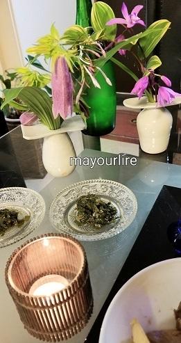 セリご飯で一汁三菜_d0169179_23583561.jpg