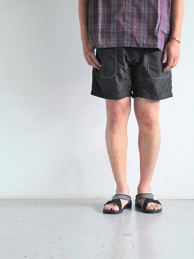 and wander Nylon Climbing Short Pants / Black_b0139281_13362850.jpg