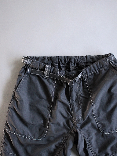 and wander Nylon Climbing Short Pants / Black_b0139281_13454916.jpg