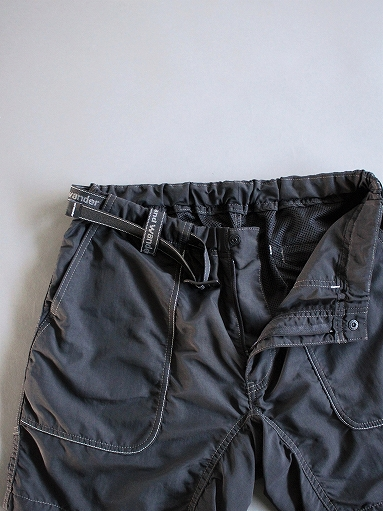 and wander Nylon Climbing Short Pants / Black_b0139281_13465890.jpg